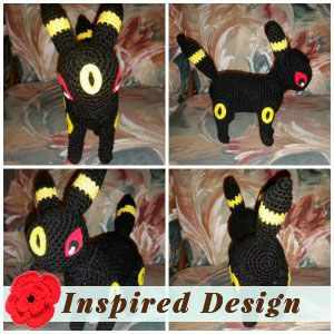 Umbreon the Pokemon by Julie E.