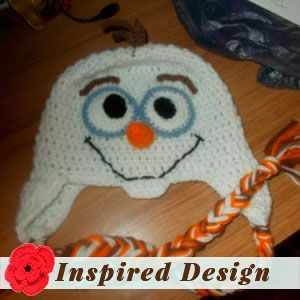 Olaf Inspired Snowman Hat by Melinda M.