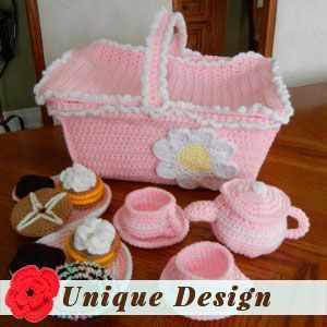 Picnic Basket Tea Time by Ruth H.