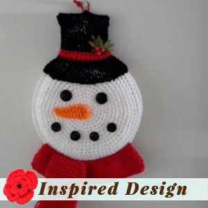 Snowman Decoration by Barbi J.