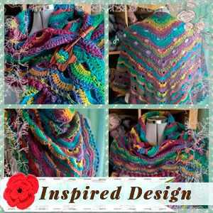 Boho Chick Shawl by Andrea M.