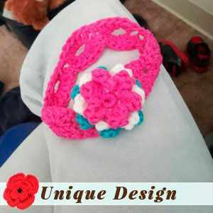 3 Color Flower Headband by Cheyenne M.
