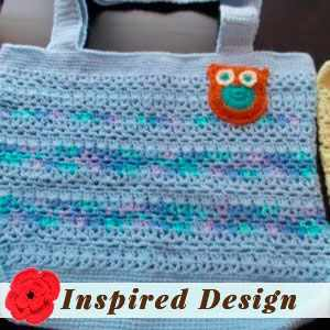 Tote with an Owl Appliqué by Melinda M.