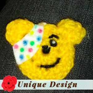 Pudsey Bear Pin Badge by Sharon E.