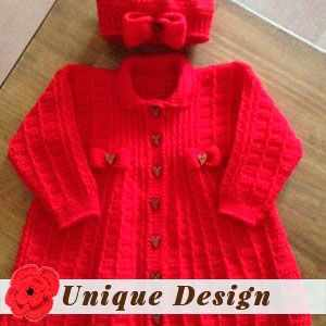 Baby Sweater Set by Wendy T.
