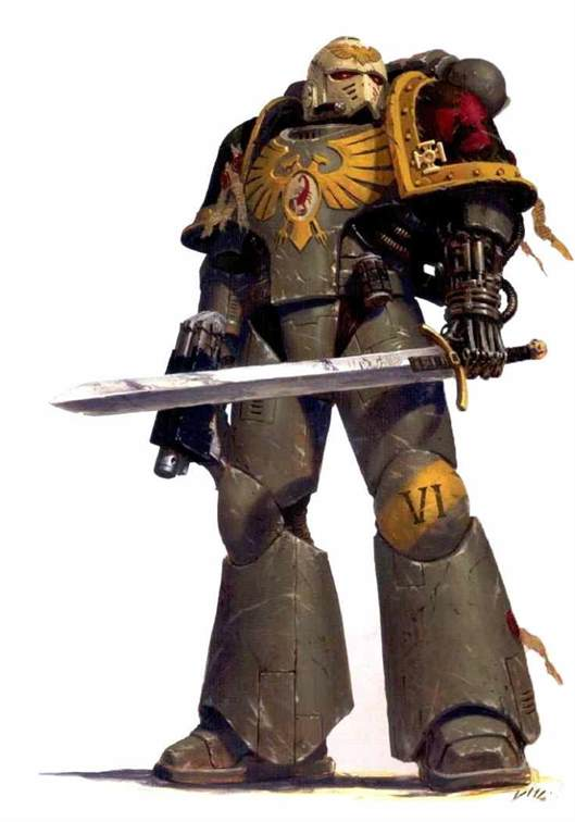Which Space Marine Successor Chapter are you in 40k?